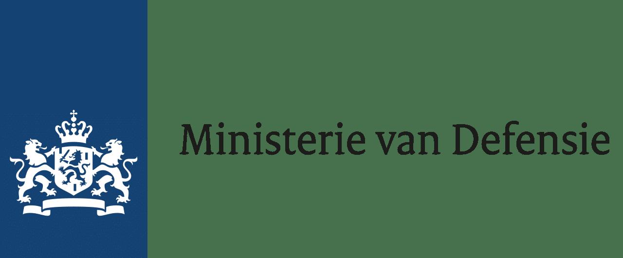 Ministerie van Defensie logo.